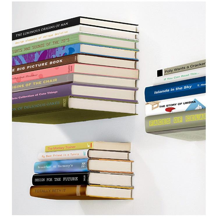 prateleira de livros invisivel 3367