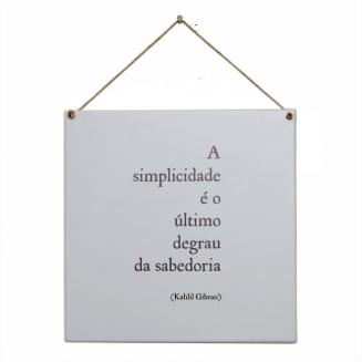 placa simplicidade 4314