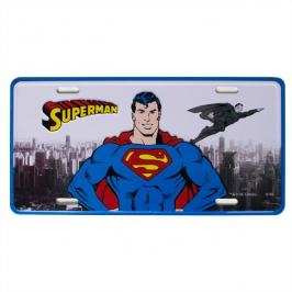 placa metal superman 4323