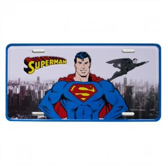 placa metal superman 4322