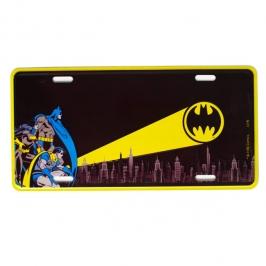 placa metal batman 4325